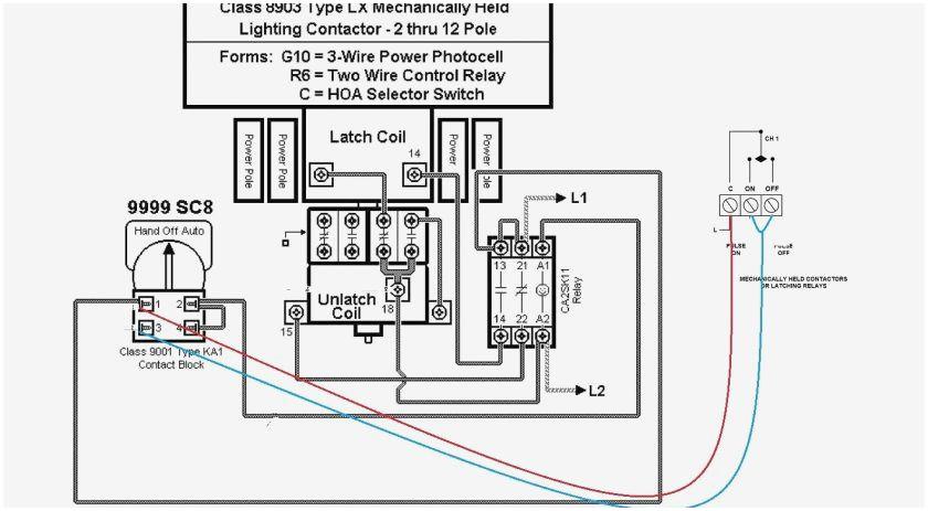 latch relay wiring diagram
