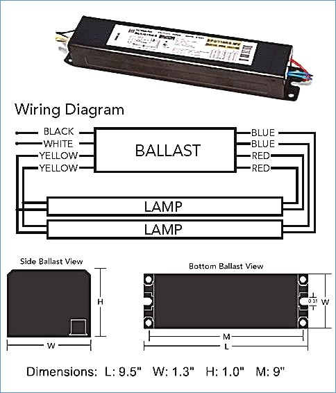 T12 Ballast Wiring Diagram Gallery Wiring Diagram Sample