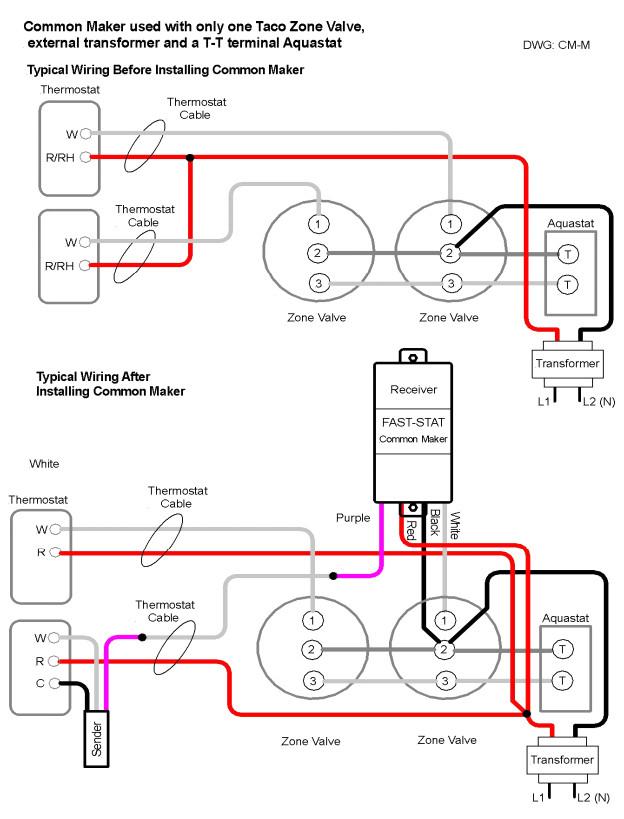 3 Wire Zone Valve Diagram Wiring Diagram