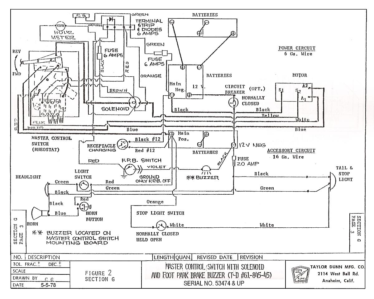 97 ez go wiring diagram