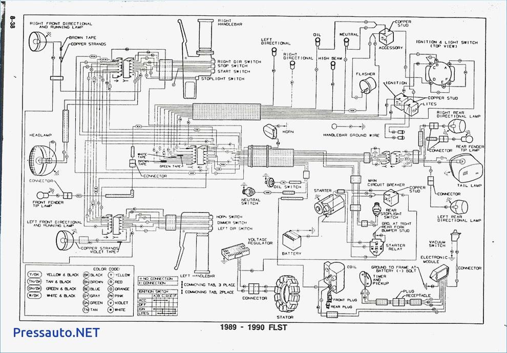 1992 Heritage Softail Wiring Diagram
