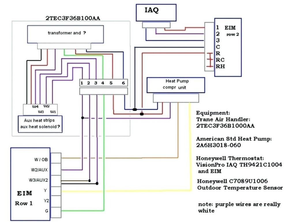 Trane thermostat Wiring Diagram Collection Wiring Diagram Sample