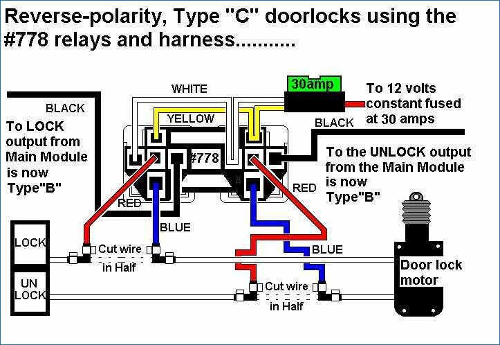 Type B Door Locks Wiring Diagram Download Wiring Diagram Sample