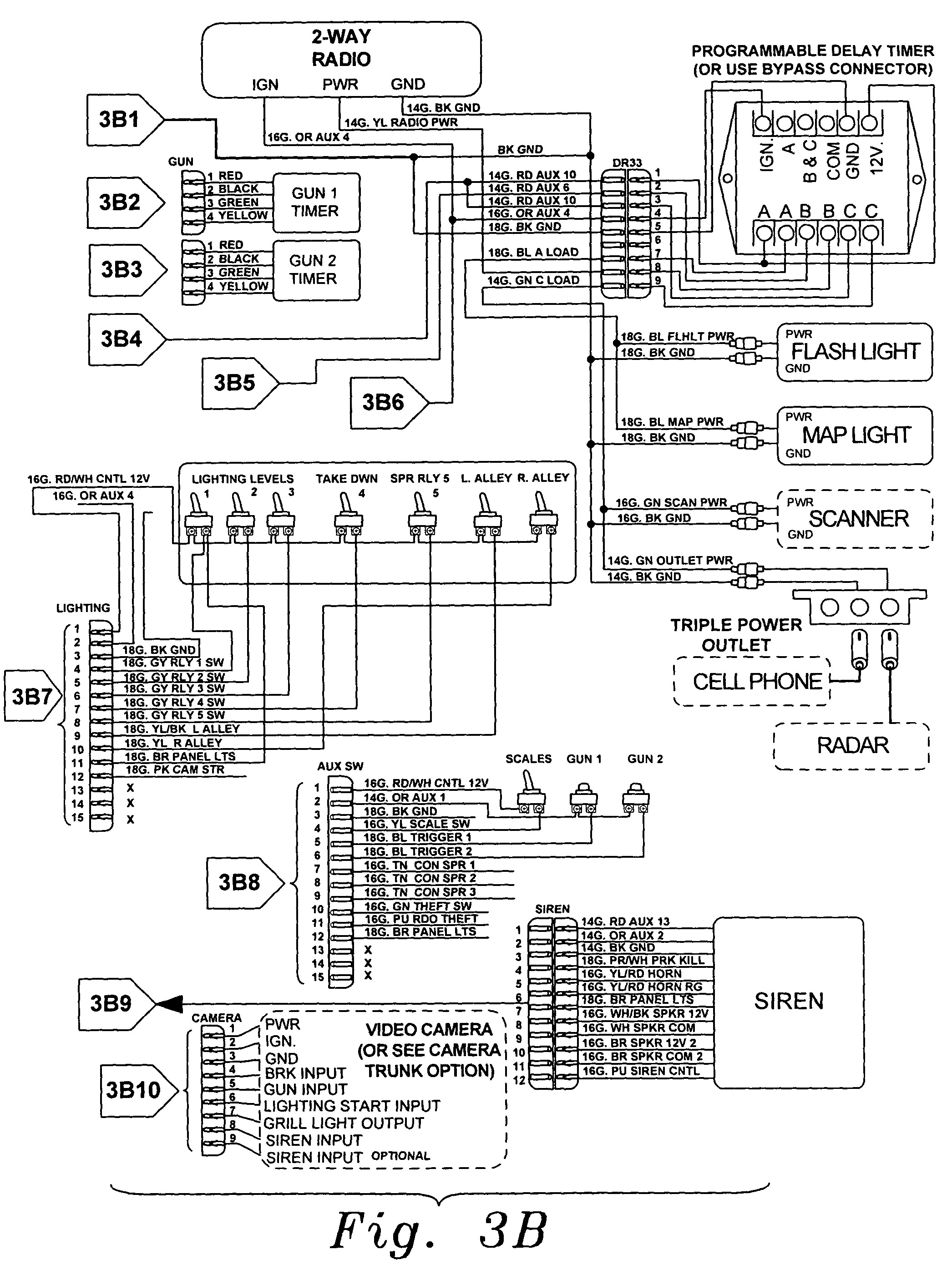 mega 3 wiring diagram