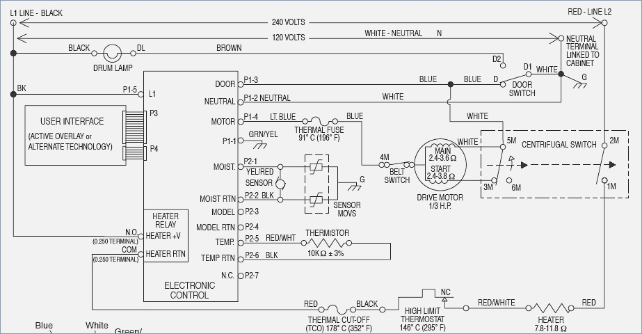 Whirlpool Electric Dryer Wiring Diagram Collection Wiring Diagram