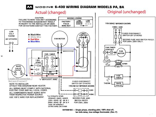 wiring thermostat white rodgers