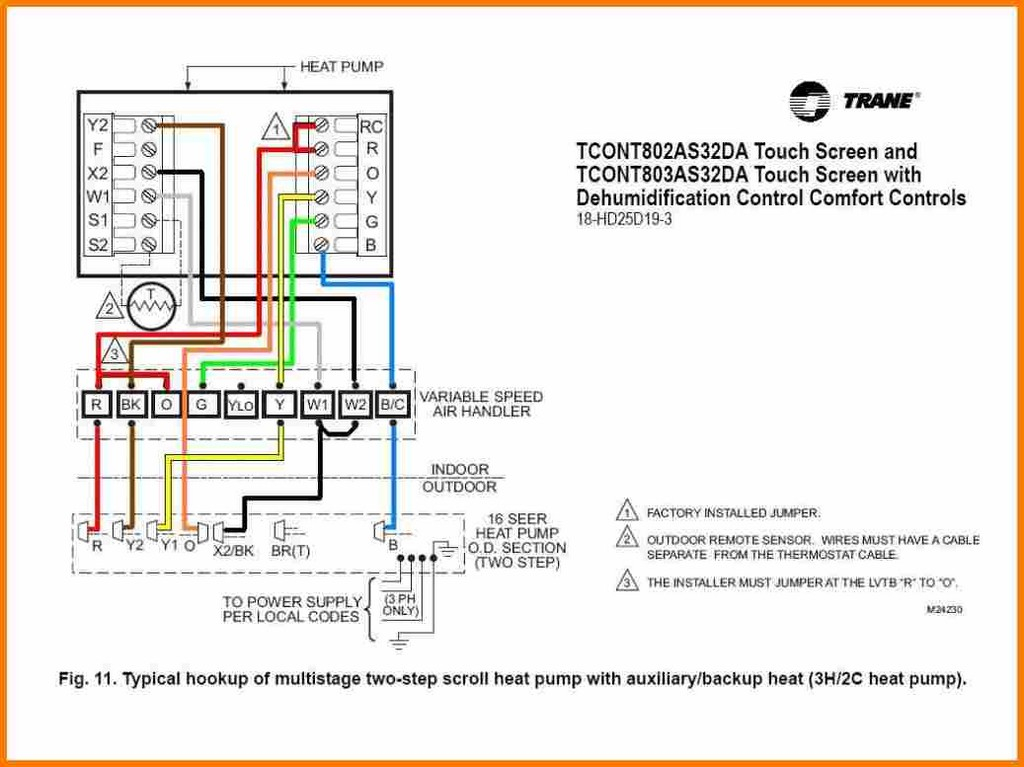 White Rodgers Heat Pump Thermostat Wiring Diagram - 8aulzucal