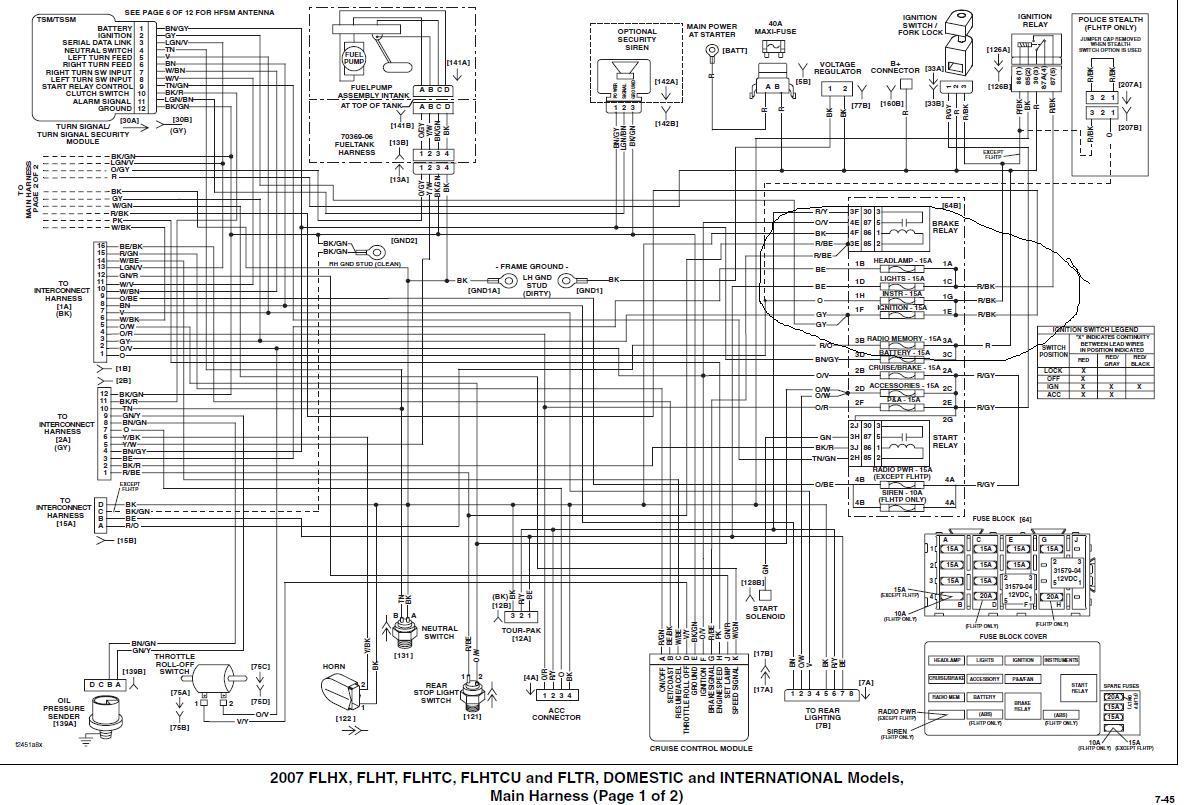 2014 harley davidson radio wiring diagram