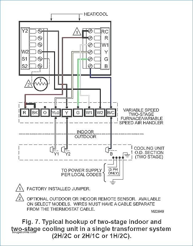 outdoor schematic wiring