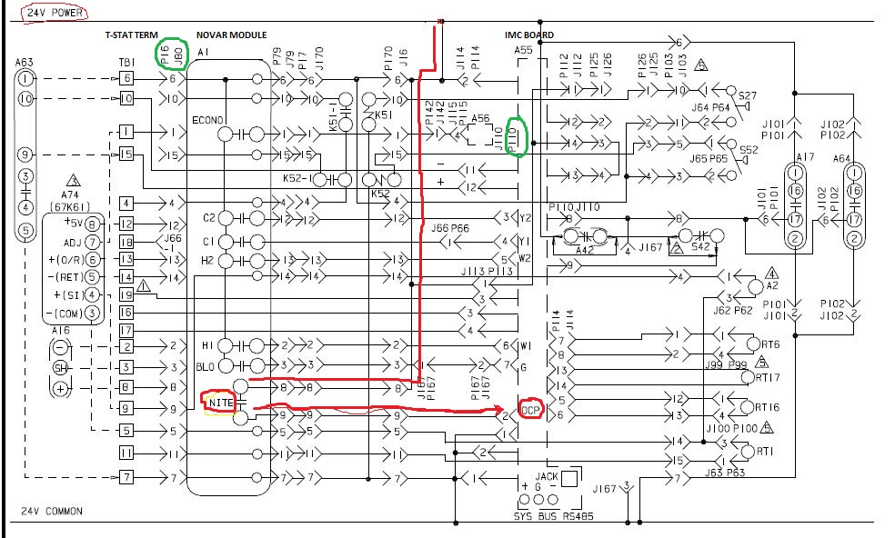 trane wiring diagrams 50 ton unit