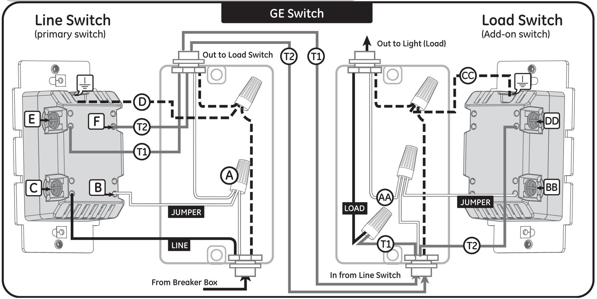 z wave 3 way switch wiring