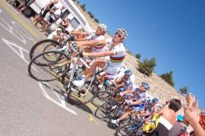 World Road Race Champion Alessandro Ballan