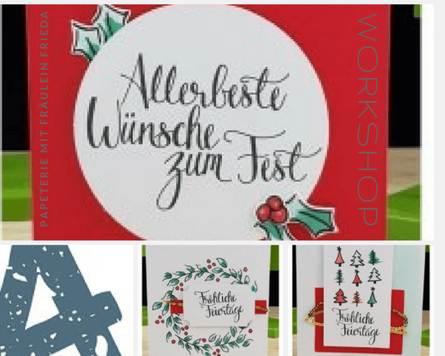 WoRkShOp: Weihnachtskarten selbst gestalten
