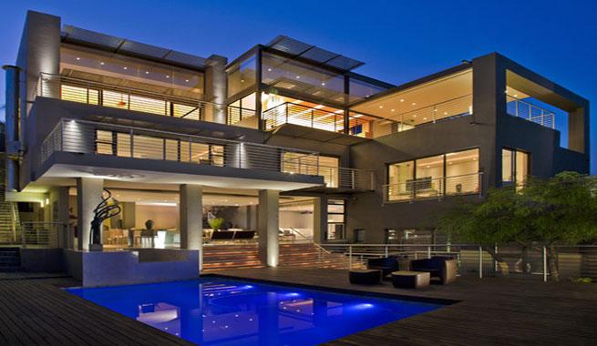 11 fachadas de casas modernas de lujo fachadas de casas - Casas de lujo fotos ...