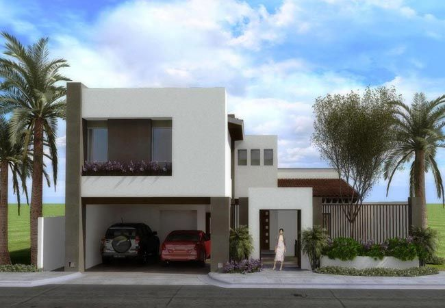 Fachadas de casas modernas page 2 ideas de fachadas for Fachadas de viviendas modernas