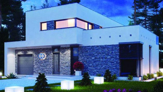10 fachadas de casas modernas cuadradas fachadas de