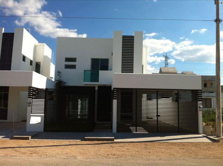 Fachadas de casas modernas ideas de fachadas planos - Casas blancas modernas ...