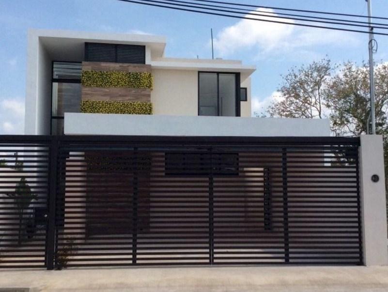 10 fachadas de casas modernas con rejas fachadas de for Frentes para casas modernas