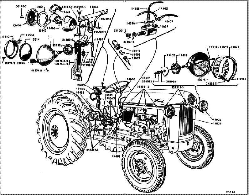 diagrama de cableado ford 5000 tractor