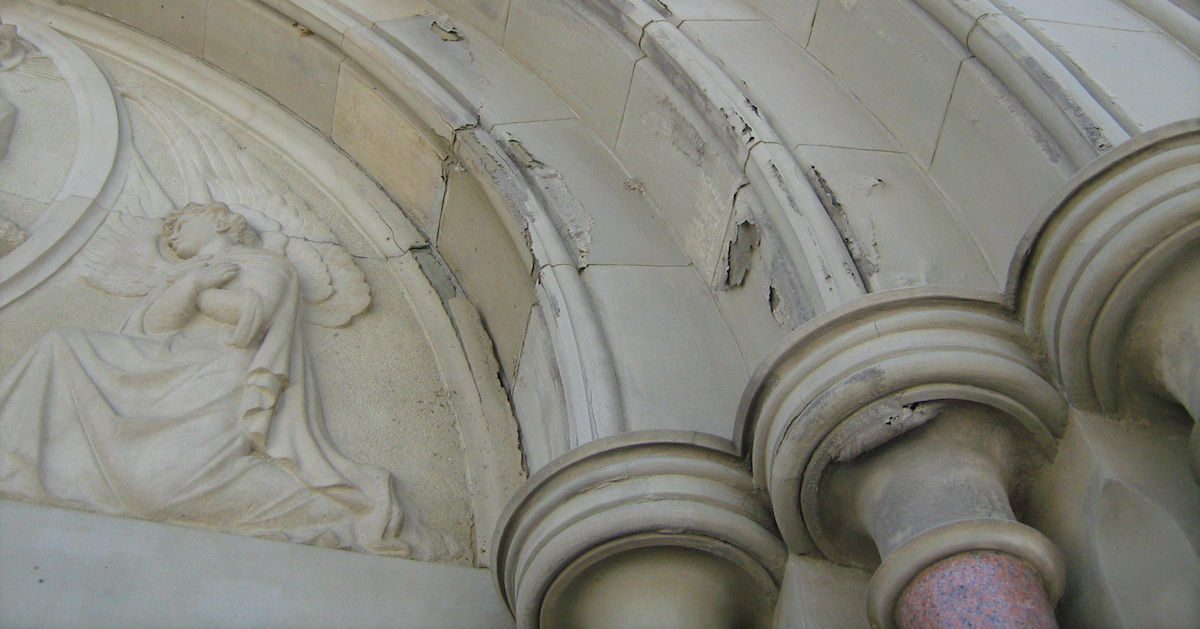 Inappropriate Repairs for Historic Stone Masonry