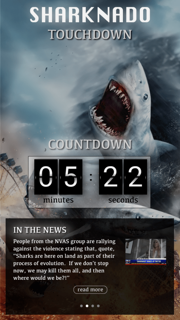 Sharknado - Countdown to Touchdown