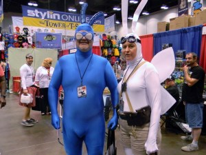 The Tick and Arthur - Cincinnati Comic Expo 14
