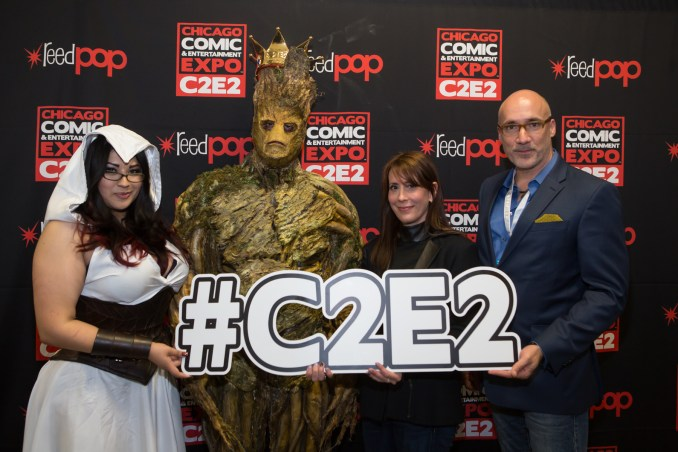 C2E2 Cosplay Champion w. judges