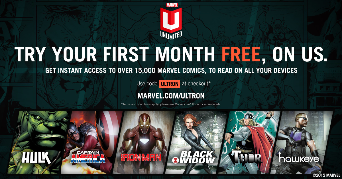comic news try marvel unlimited first month free now fa comics