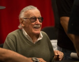 Marvel Comics icon Stan Lee signs autographs during the inaugural Silicon Valley Comic Con, founded by Apple co-founder Steve Wozniak, at the San Jose McEnery Convention Center in San Jose, Calif., Saturday, March 18, 2016. (Patrick Tehan/Bay Area News Group)