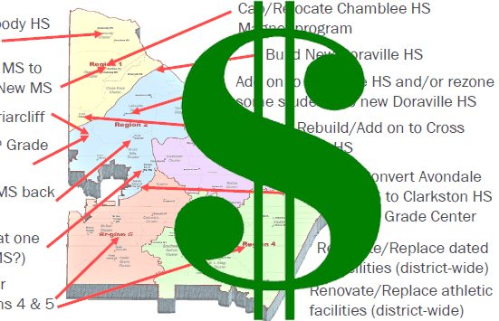 Relocating Chamblee Magnets
