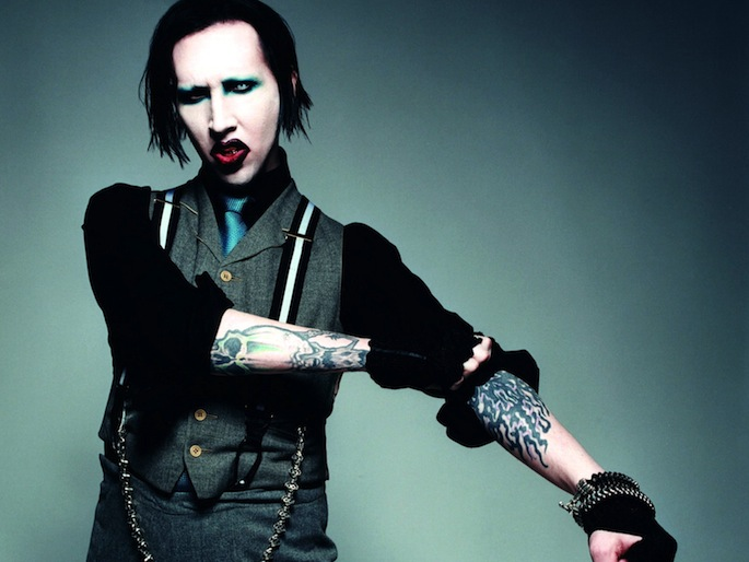 G Shock Hd Wallpaper The Beautiful People Check Out Marilyn Manson S Makeup