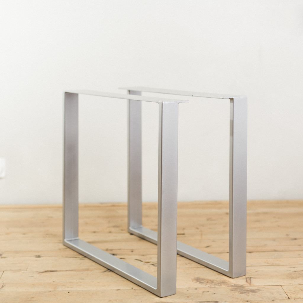 Metal Leg Desk Powder Coated Steel U Shape Table Legs Factor Fabrication