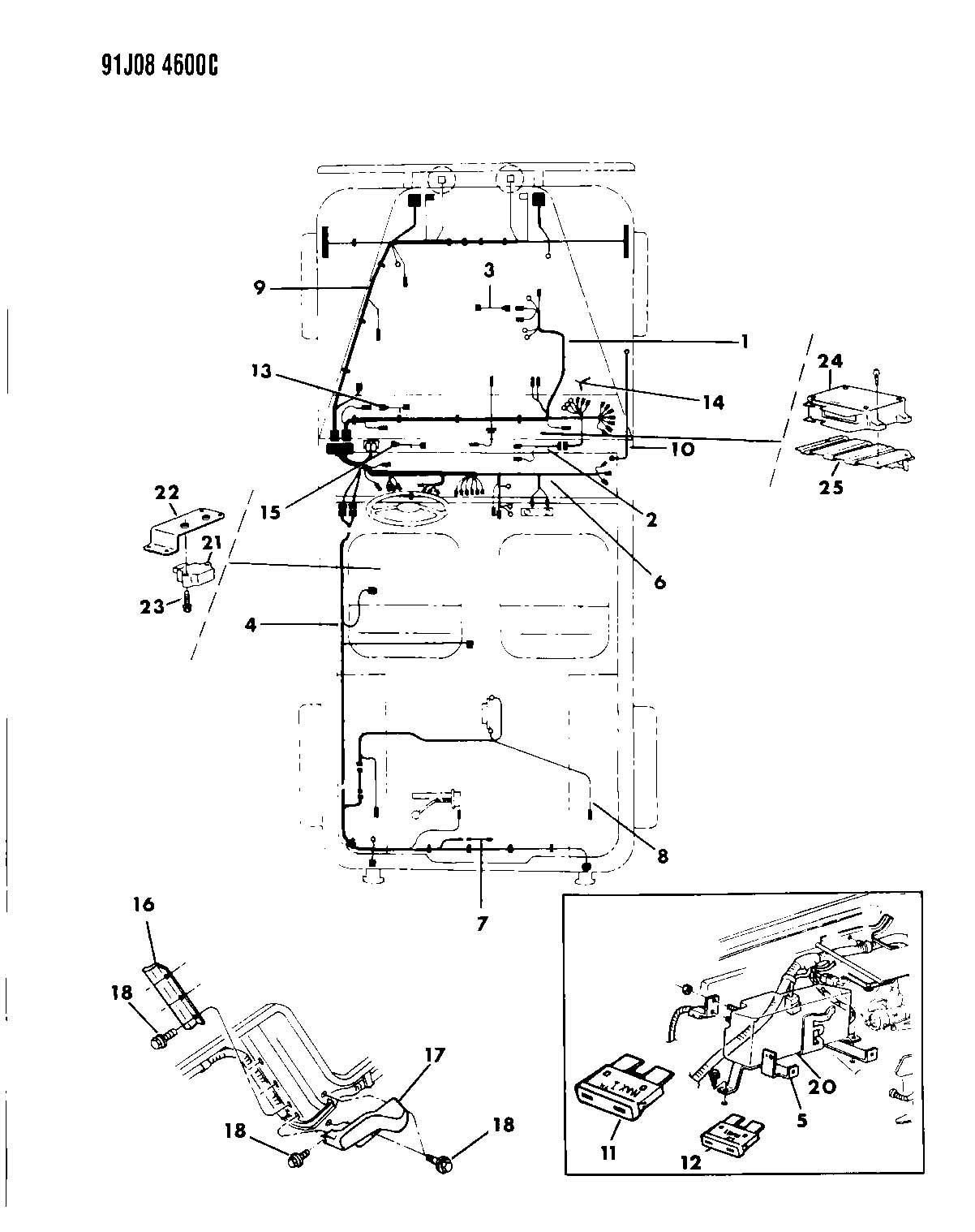pioneer deh 150mp wiring diagram for 03 jeep wrangler