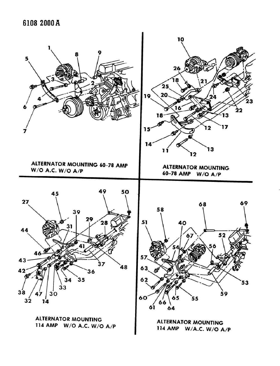 mopar 318 engine Schaltplang
