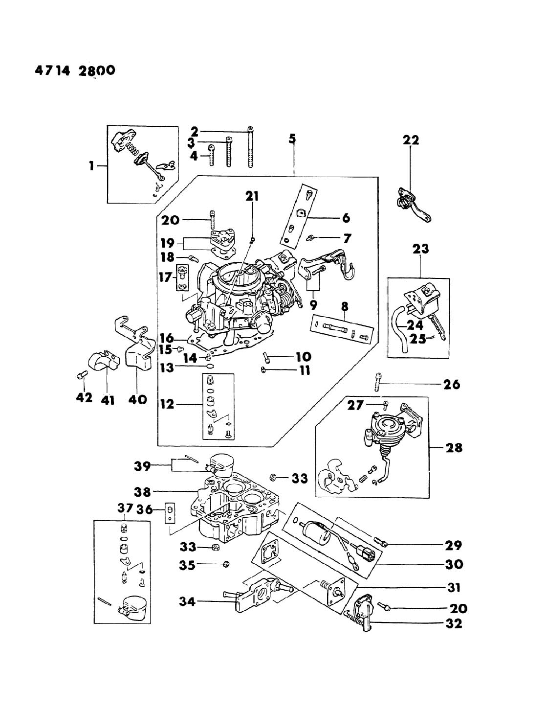 1984 chrysler mitsubishi engine diagram