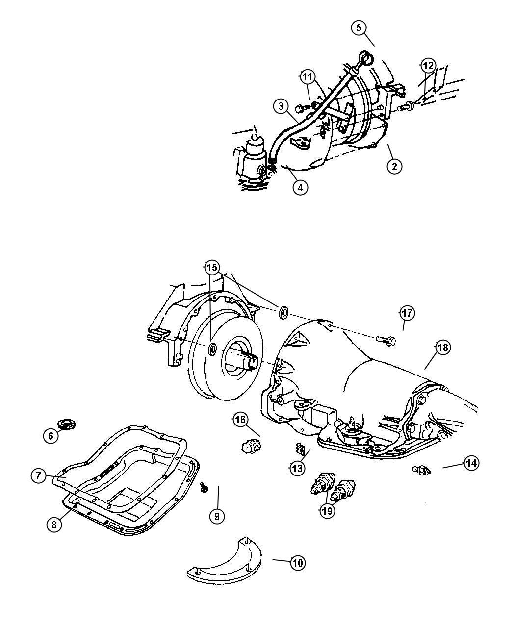 dodge 46re transmission diagram