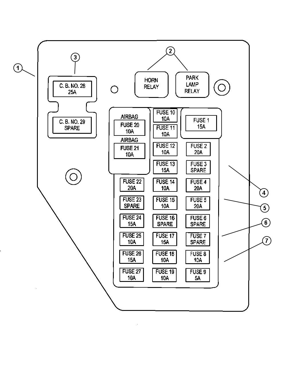 fuse box diagram for 2009 ford crown victoria