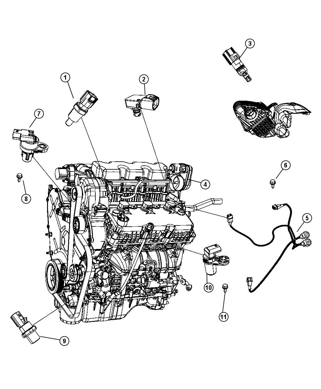 2006 dodge stratus 2.4l engine diagram