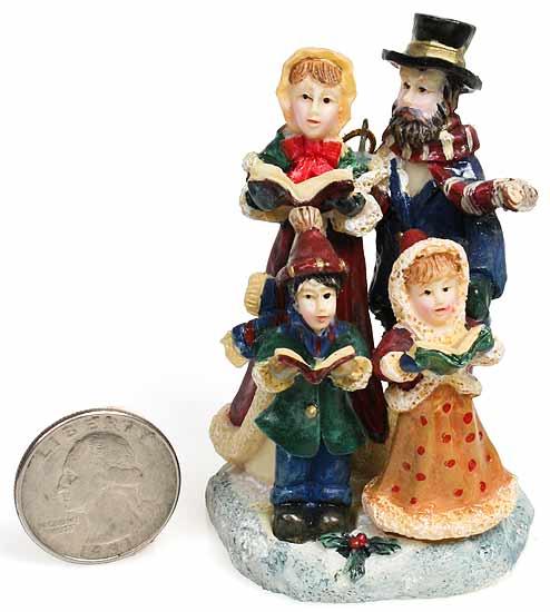 Victorian Christmas Carolers Polystone Ornament - Christmas - christmas carolers decorations