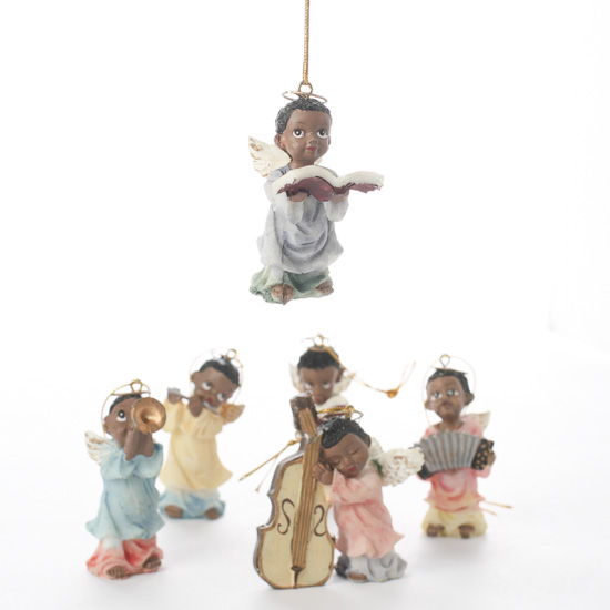 african american angel ornaments