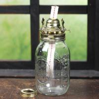 Mason Jar Oil Lamp Kit - Lamp Making - Basic Craft ...