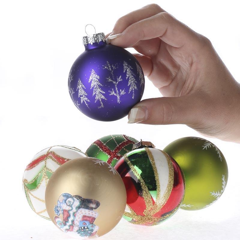 glass ball ornaments crafts