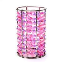 Pink Beaded Candle Holder - Table Decor - Home Decor