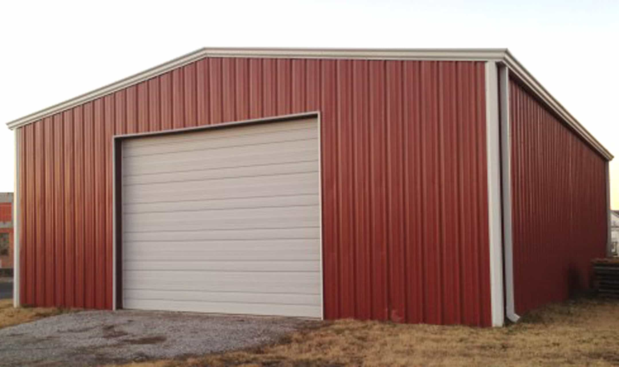 40*50 40 X 50 X 16 Steel Building Sale