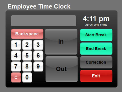 Factory Service Co » Employee Time Clock