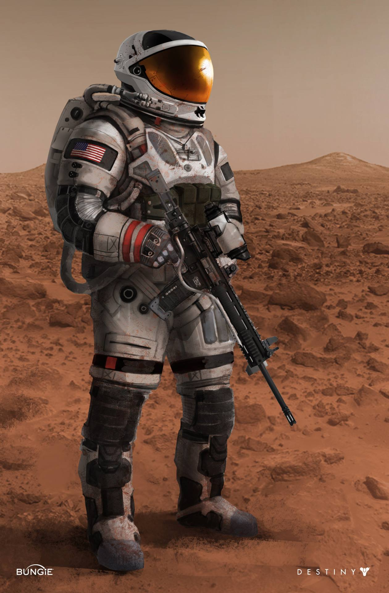"Oh Baby Film Bungie: ""mars In Destiny (video Game)"" 