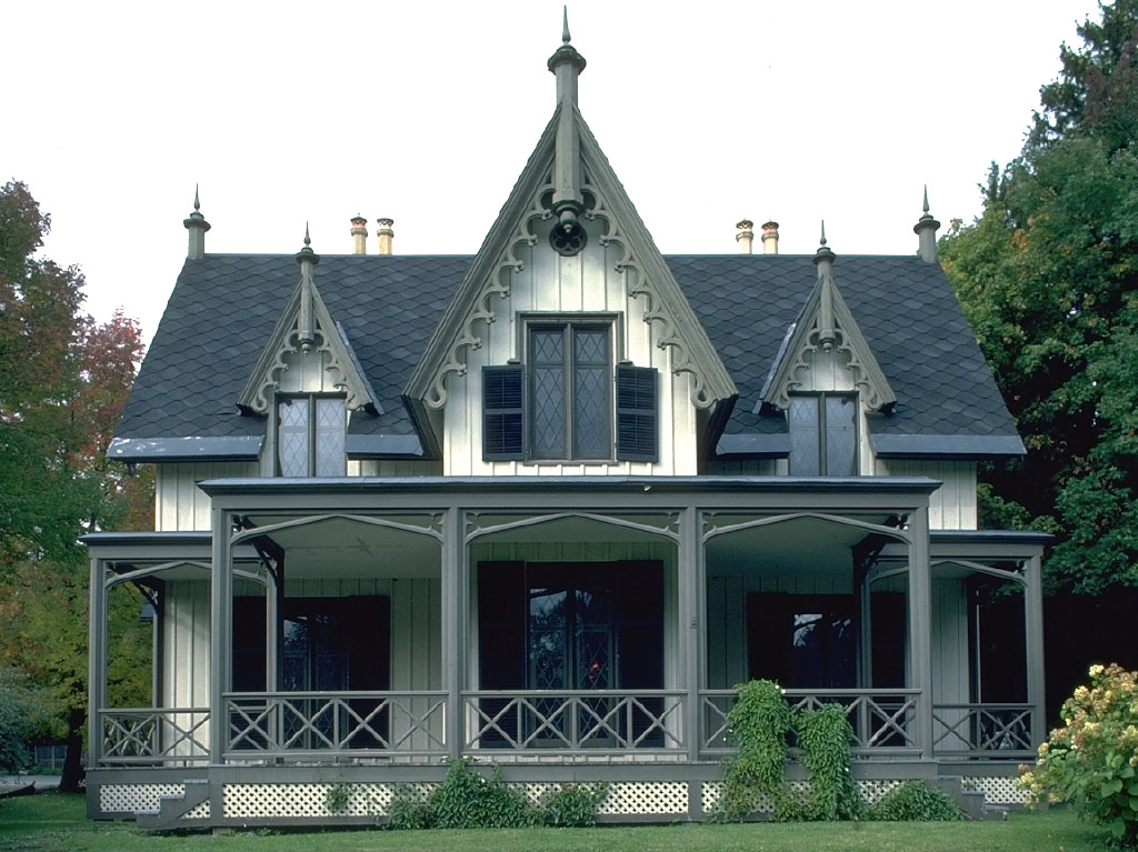 gothic victorian houses