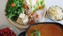 Shabu-Shabu with Spicy Soy Milk Broth • Tonyu Yakuzen Shabu-Shabu 豆乳薬膳しゃぶしゃぶ | Fae's Twist & Tango