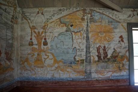 wandmalereien in der kirche