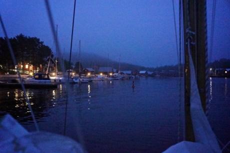 trysunda, es wird langsam wieder dunkel